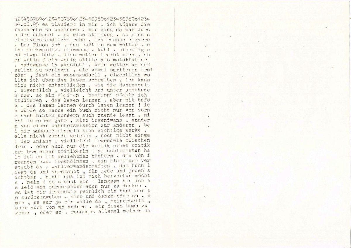 Tagtexte, 1993 bis 2016.: www.sternluek.de